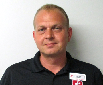 Greenville Store Manager Kevin Ormand