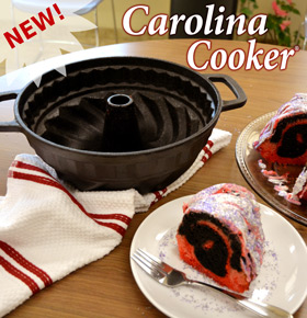 Carolina Cooker Fluted Cake Pan