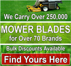 Find Your Mower Blade