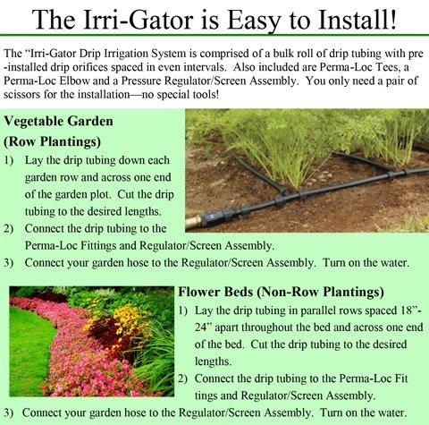 Irri-Gator Installation