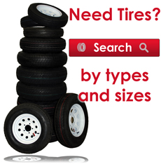 Search for Tires by type or size