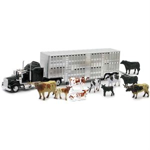 Cow Truck and Trailer Playset