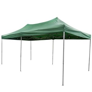 Green Pop-Up Tent, 10 x 20 Ft.