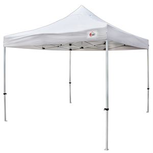 White Pop-Up Tent, 10 x 10Ft.