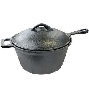 Carolina Cooker® Preseasoned Sauce Pan, 2 Qt.