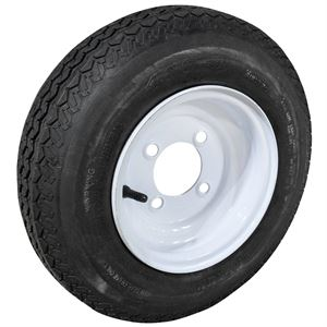Tire and Wheel Assembly, 4.80 x 8, LRB, 4 on 4 Wheel