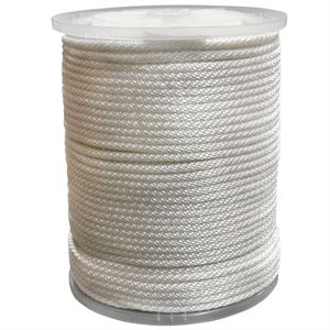 #10 Solid Braided Nylon Rope, 5/16 In.
