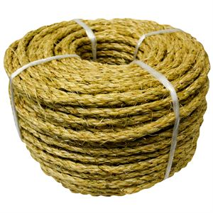 Twisted Sisal Twine, 1/4 In. x 100 Ft.