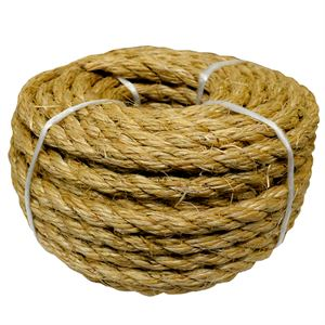 Twisted Sisal Twine, 3/8 In. x 50 Ft.