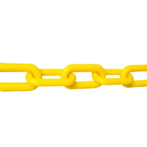 Yellow Plastic Chain, 2 In.