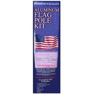 American Flag and Pole Kit