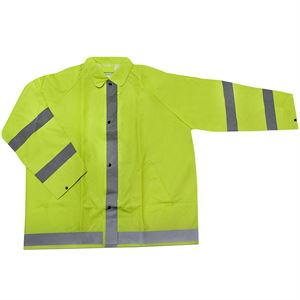 Agri Wear Reflective/Safety Rain Jacket (2XL)