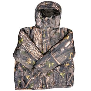 Insulated Camo Parka with Hood, Large