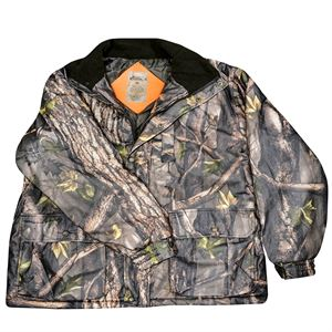 Insulated Camo Parka with Hood, 2XL