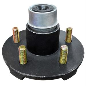 Trailer Hub Assembly with Bearing, 5 on 4-1/2 In.