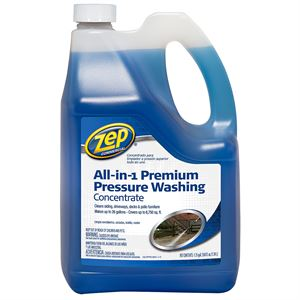 Zep® All-in-1 Pressure Washing Concentrate, 160 Oz.