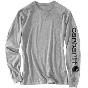 Carhartt® Workwear Long-Sleeve Graphic Logo Shirt, 3XL, Gray
