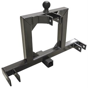 3 Point Tractor Hitch To 2 Receiver