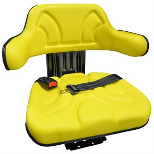 Yellow Universal Tractor Seat