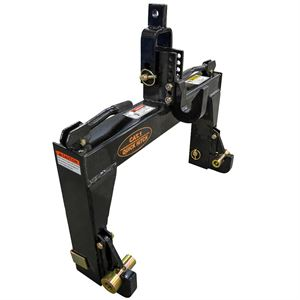 3-Point Quick Hitch, Category 1 with Bushings & Adapter
