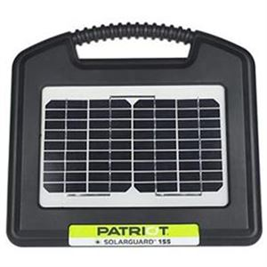 Patriot Portable Solarguard 155, Electric Fence Energizer, 12V