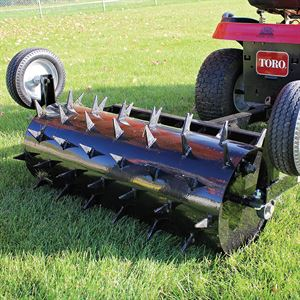 Maxim® Tow Behind Spike Aerator, 48 In., 32 Gallon Capacity