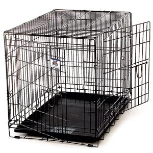 Medium Wire Pet Crate Two Doors