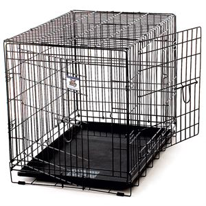 Large Wire Pet Crate Two Doors