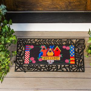 Birdhouse Welcome Switch Mat