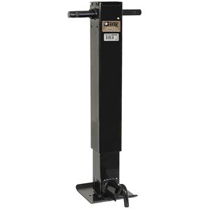 Trailer Jack, Drop Leg, Side Wind, 10,000 Lb Lift Capacity