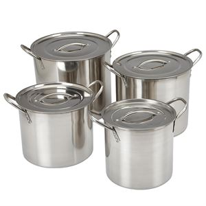 4 Piece Stock Pot Set
