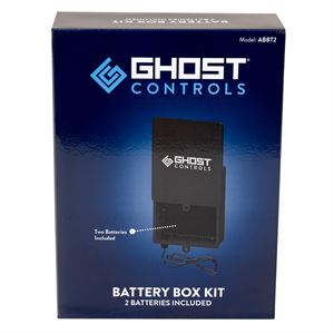 Ghost Controls ABBT-2 Battery Box Kit with 2 Batteries