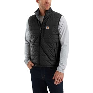 Carhartt® Nylon Quilted Black Vest XL