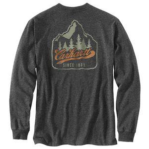 Carhartt® Mountain Carbon Heather Long Sleeve Large
