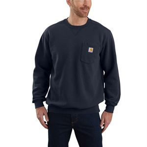 Carhartt® Navy Sweatshirt with Pocket 4X-Large