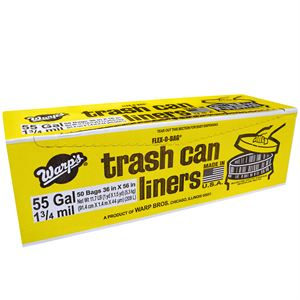 Gal Flex Bag Liners Bx