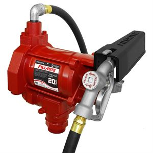 Fill-Rite Fuel Transfer Pump, FR700V, 115 Volt AC, 1/3 HP, 20 GPM