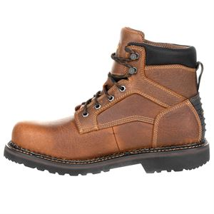 Georgia Boots 6 Inch Revamp Steel Toe Boot Size 8