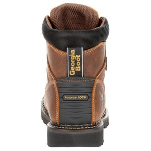 Georgia Boots 6 Inch Revamp Steel Toe Boot Size 9