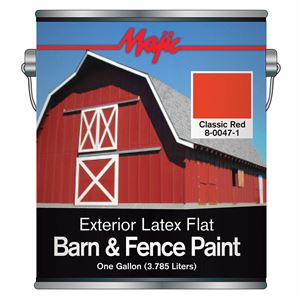 Red Latex Barn & Fence Paint Gal