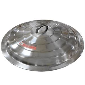 Stainless Steel Lid For 25 Gallon Stew Pot
