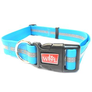 Waterproof Collar Large Blue