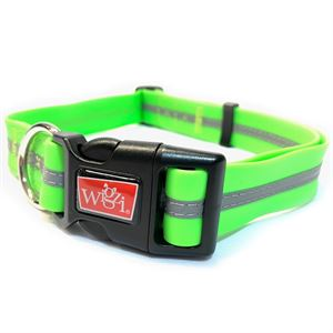 Waterproof Collar Large Green
