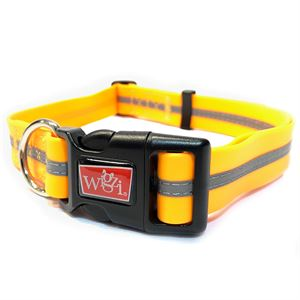 Waterproof Collar Large Orange