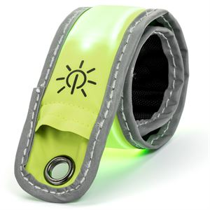 Lighted Safety Band-Green