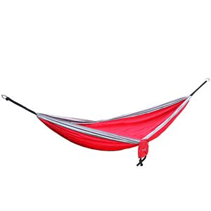 Double Travel Hammock Red