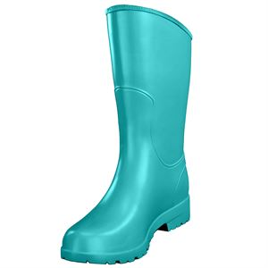 DryWalker MOOiE Short Turquoise Boot, Size 6