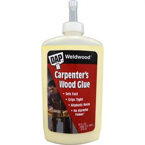 Professional Carpenters Wood Glue, 16 Oz.