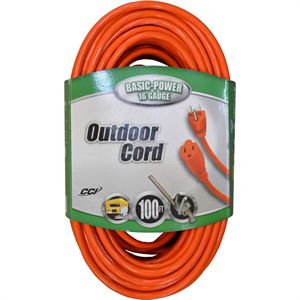 Outdoor Extension Cord, 100 Ft.