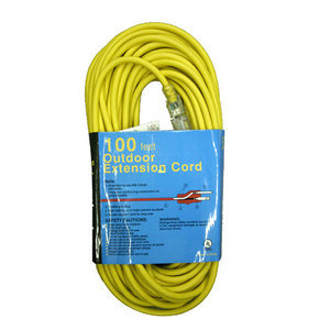 12-3 Outdoor Extension Cord, 100 Ft.